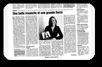 Brigitte Bourrette dans Drôme Hebdo