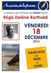 Regis délène Bartholdi à la maison de la presse de Clisson