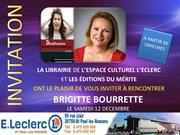 Brigitte Bourette en dédicace à saint paul les romans