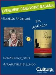 Mireille Maquoi en dédicace à Auxerre