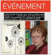 Monique Cencerrado,Salon du livre de la rochelle, dédicace