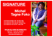 Michel Tagne Foko, Salon du livre de Paris , 2015