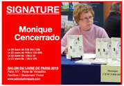 Monique Cencerrado, Salon du livre de Paris, 2015