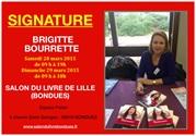 Brigitte Bourrette sera au salon du livre de Lille, Bondues.