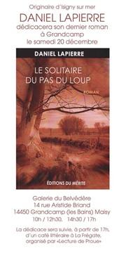 Daniel Lapierre Le Solitaire du Pas du Loup