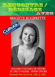 Brigitte Bourrette, Cultura, givors, magasin cultura, ville de Givors, valence, departement 26