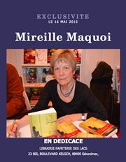 """mireille Maquoi dans le quotidien L'avenir pour son ouvrage """" Entraves et tentations """", dédicace librairie"""