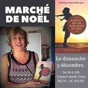 marché de noel à LE SOLLIER